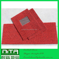 heavy-duty Car mat loop carpet stick on the floor for hotel hall with nail backing in roll