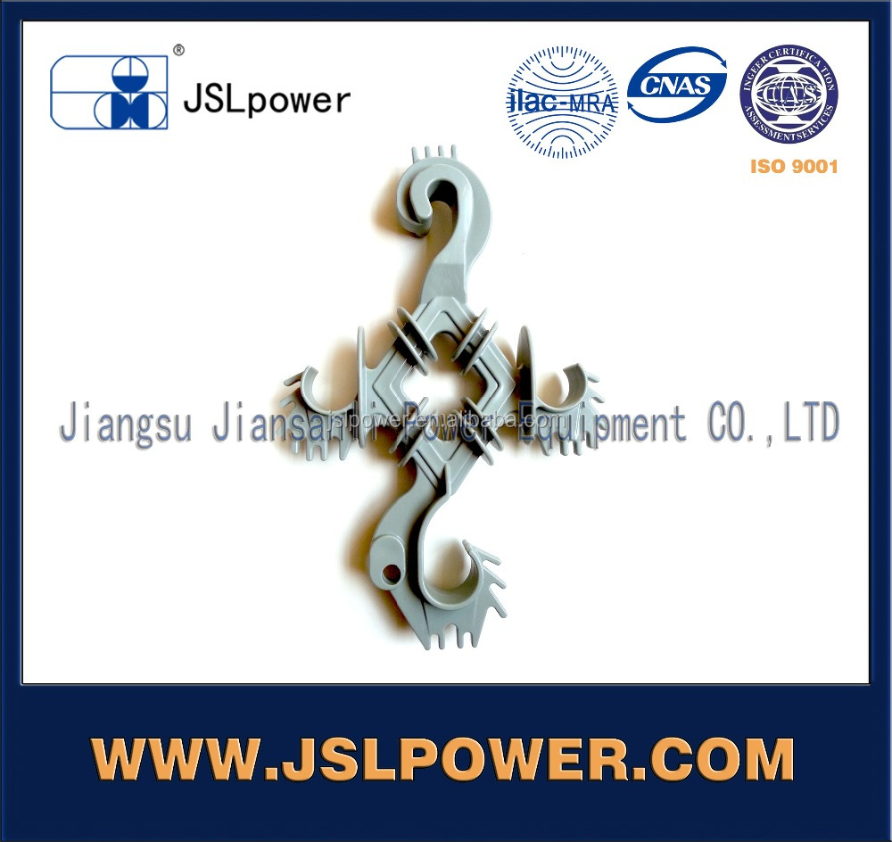 China Manufacturer Jiangsu Jinsanli HDPE Cable Spacer