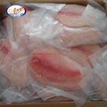 New coming frozen tilapia fish fillet with 3/5 OZ/piece