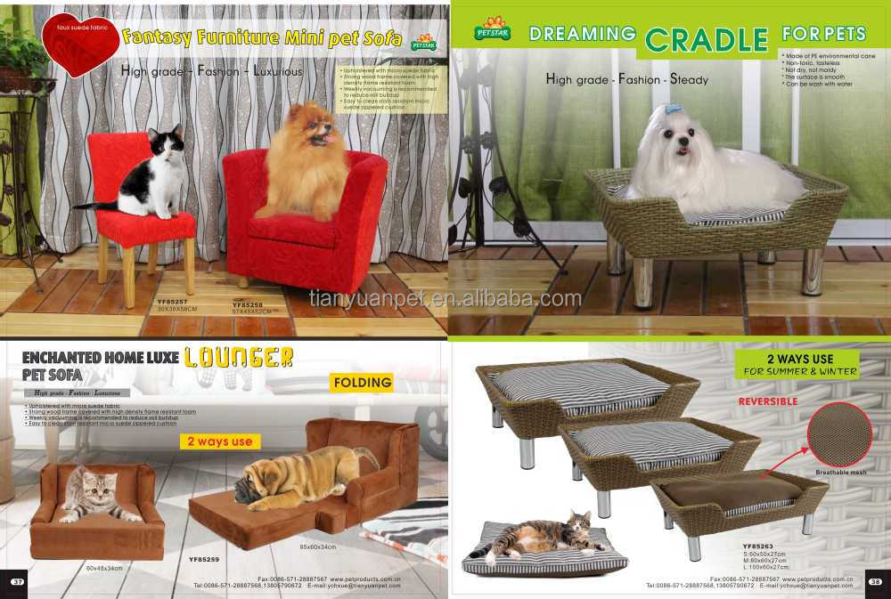 Enchanted Home Luxe Lounger Two Ways Use Luxury Dog Sofa