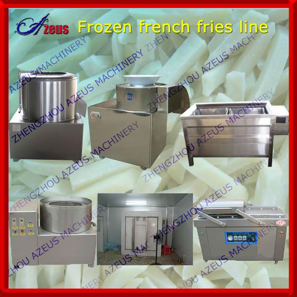 Snack Machines french fried potatoes production line 0086-135 9242 0081