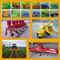 QLN 304 farm wheel tractor with farm tools and equipment