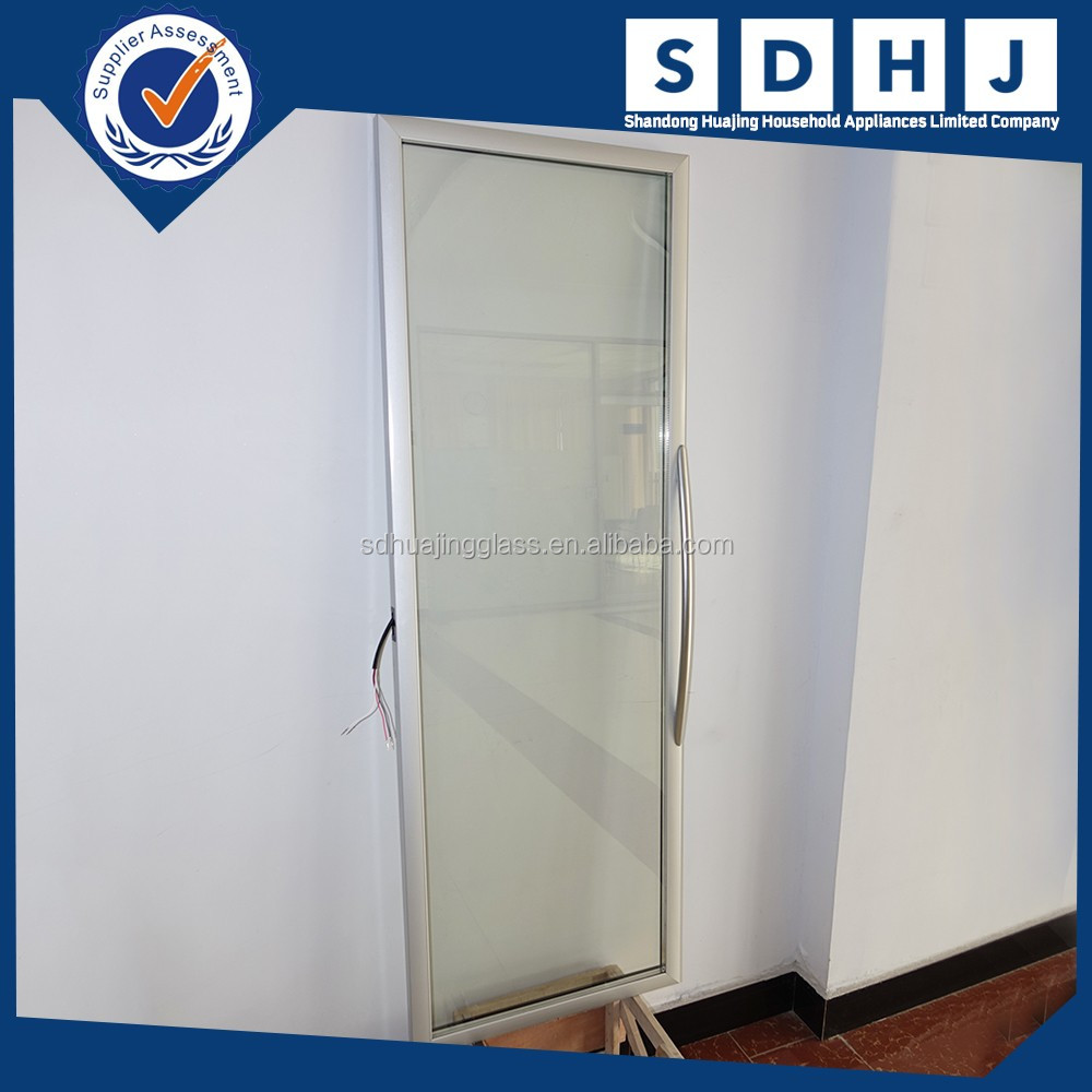 anti-fog electrical heated freezer glass door for refrigerator/cabinet/display cold room