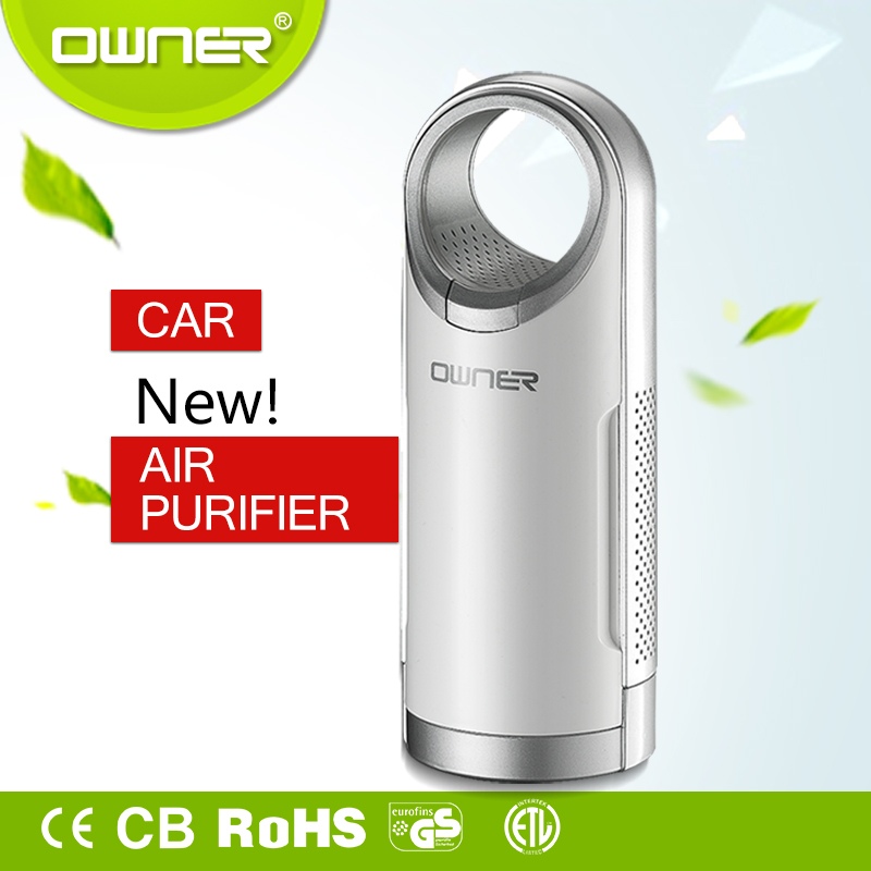 Appearance design beautiful ozone air meter selling car accessory