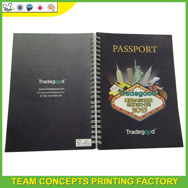 colorful printing exercise note book for students