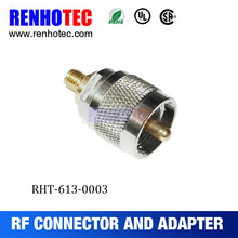 180 Degree SMA Jack to UHF Plug Adapter PL259 Connectors