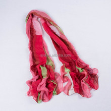 2015 New Infinity Red Scarf For Women With Striped Design