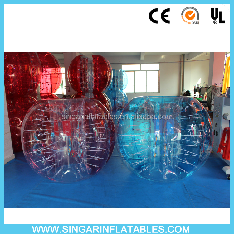 Adults toy giant soccer bubble ball , 2016 bubble football battle ball, giant human bubble ball
