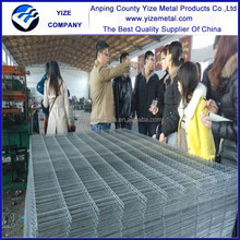 High zinc plated steel wire mesh fence for boundary wall