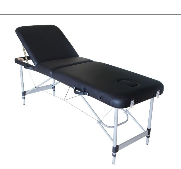 portable massage table with cheap price and aluminum leg use for beauty spa table