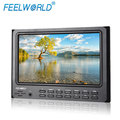 "Screen Hood Cloth Sunshade 7"" IPS LCD Broadcast Camera Top 1080P Full HD HDMI Video Monitor with Peaking Focus"
