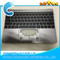 "Laptop Topcase with keyboard For Macbook Pro Retina 12"" A1534 Upper Case with US keyboard Year 2016 Gray Color"