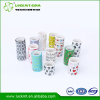 Wholesale Colorful School Use Stationery Tape With Logo Free Sample