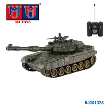 Hot selling kids toys plastic toy rc tank petrol engine, mini rc tank model for sale
