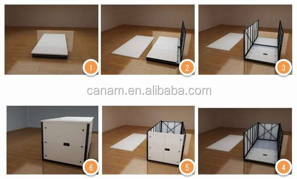 16/ 20 ft folding storage container foldable