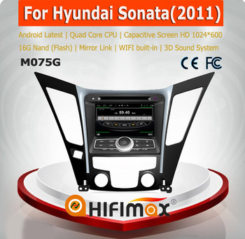 HIFIMAX Android 2din navigation dvd for Hyundai Sonata (2011-2013)