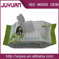 2015 hot sale fruit flavor feminine wipes from China