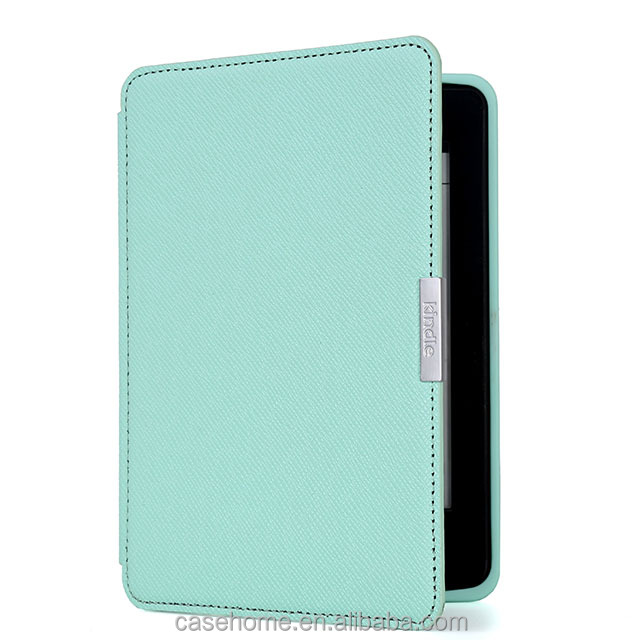 Folio Cover Leather Tabelt Case For Kindle Fire HD 7 2014- Slim Fit Standing Protective Cover with Auto Sleep/Wake Feature