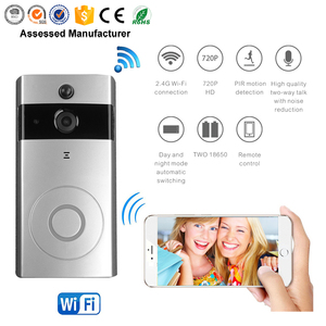 Standby 8 Month Intercom IR Motion Detection Phone Ring Alarm Smart Security Wifi Video Door Bell Camera
