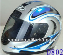 Personalized custom full-face safety helmets for motorcycle