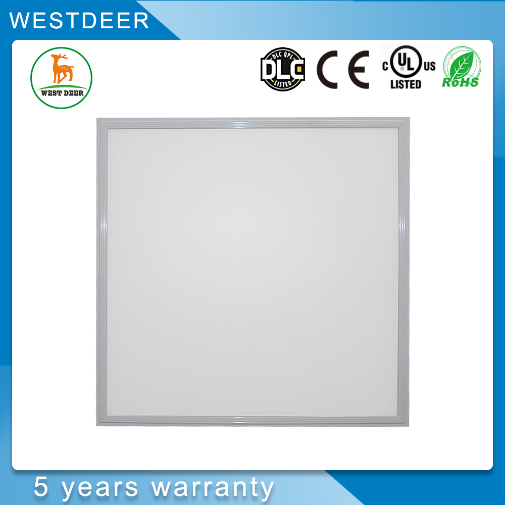 Aluminum material body ultra thin 24w led panel light 600x300 price list with 5 years Warranty