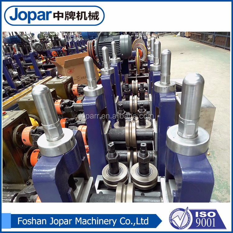 foshan cold-drawn seamless steel pipe and tube/ss pipe rib machine