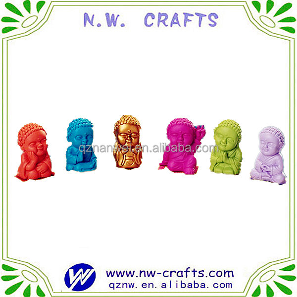 Resin mini buddha statues for sale