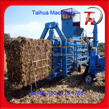 2016 Pine straw compactor machine and pine straw compact baler for wheat straw
