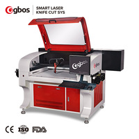 Gbos Camera CCD Laser Cutting Machine For LGP/Fabric Lable/ Cloth Applique Laser Cutter
