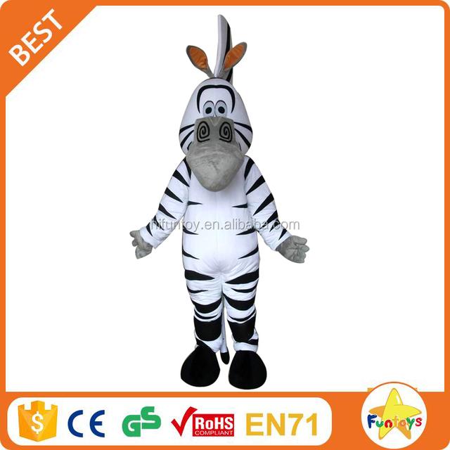 Funtoys CE Wholesale Character Dress Costumes 2 Person Zebra Mascot Costume  sc 1 th 225 & 2 person zebra mascot costume_Yuanwenjun.com