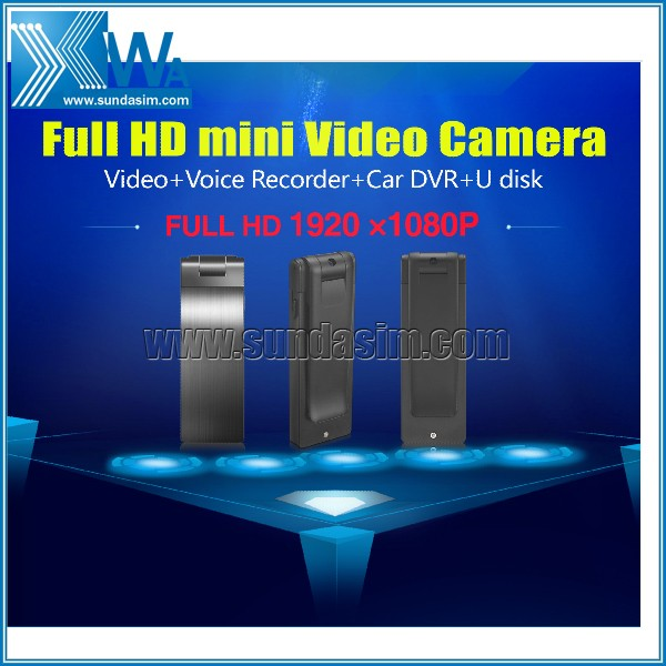 Hidden Mini USB Flash Drive Cam Camera Nanny HD DVR Video Recorder 1080P