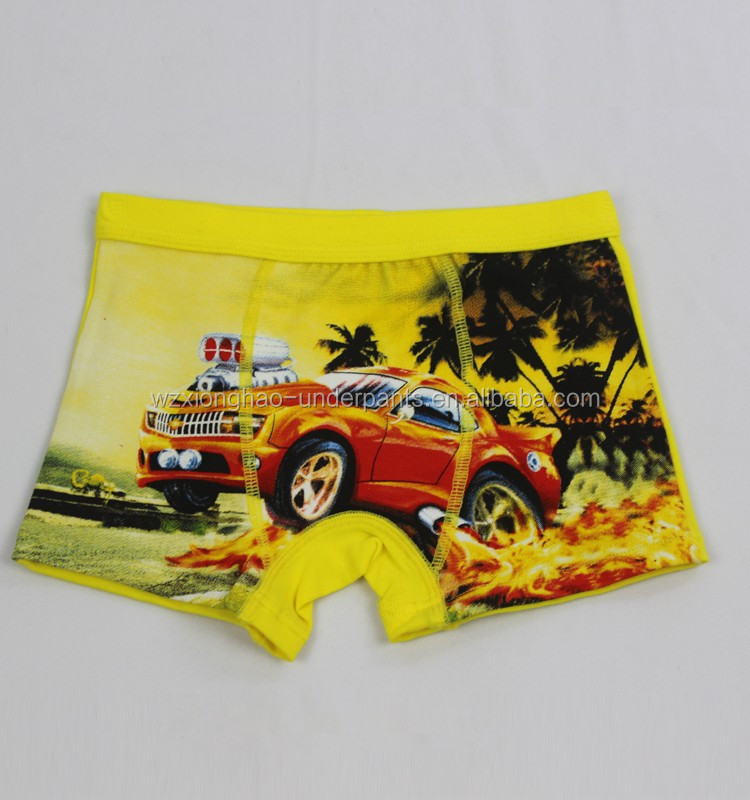 Wenzhou Superior quality modal yellow children in underwear pictures