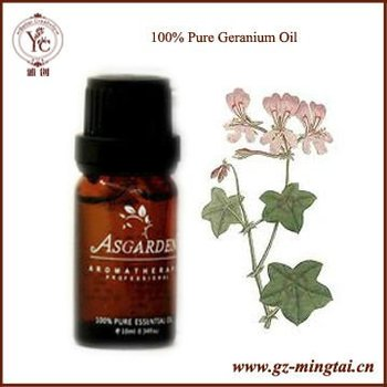 100% Pure Geranium Essential Oil