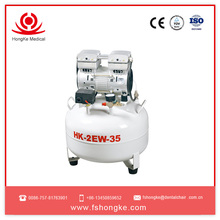 CE approved portable gas dental unit air compressor