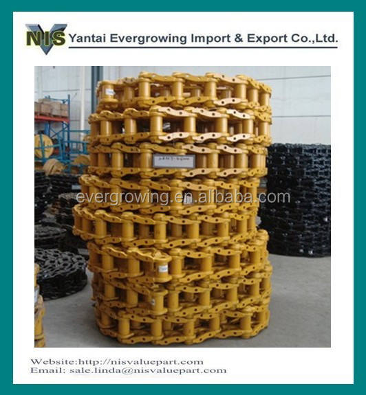 Bulldozer Undercarriage Track Chain Link For D9E