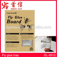 Pest control sticky fly paper, insect glue trap GL-6012
