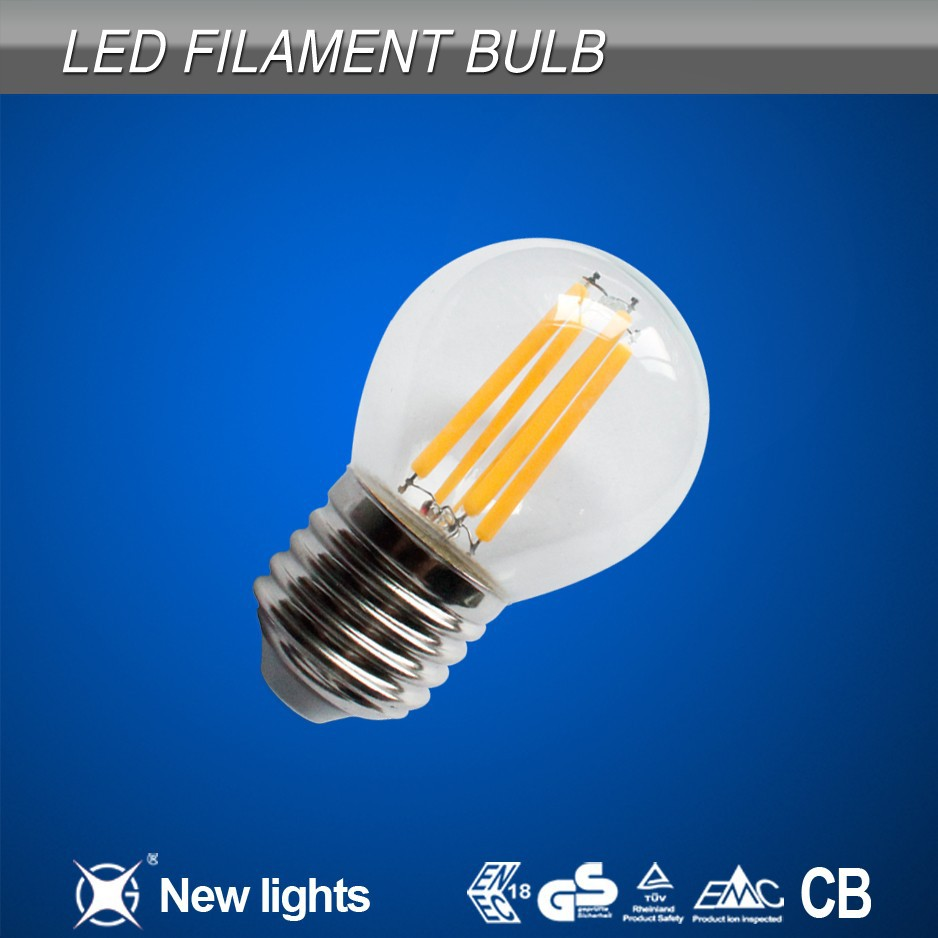 led marine lights interior E27 G45 LED Filament Lamp Bulb 2700K