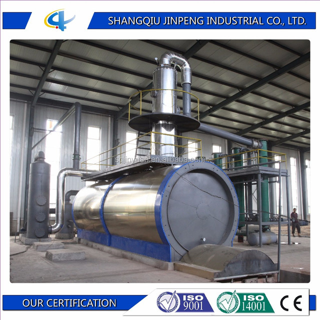 Best Selling Waste Oil Distillation Plant Environmental Friendly Tyre Oil Refiner Machine Waste Engine Oil Recycling Machine