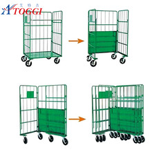 industrial wire mesh roll off container for sale