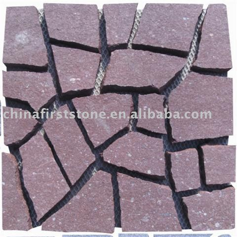 Red Granite Mosaic HZR-55