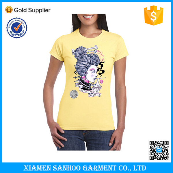 Wholesale women clothes t shirts for ladies promotion for Bulk t shirts with logo