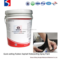 Spray quick setting rubber asphalt waterproof coating made in China