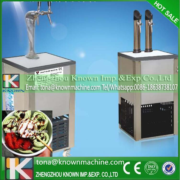 Export EU durable to use beer dispenser cooler tower ice with 50L water volume of the tank