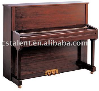 123cm Upright Piano with Piano Stool