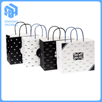 high quality clothing craft paper bags with full color printing