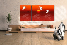 multi-panel bird canvas wall art art crafts for gifts B-417