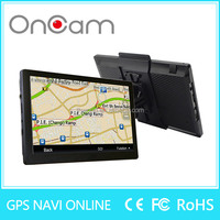 New design gps navigation 7 inch with 8GB memory preinstall truck map