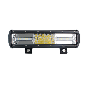China factory price 12inch 162W 10-30V 12V 24V 3-rows middle SMD beads two sides led light bar
