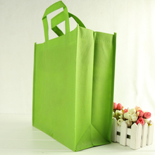 high quality heavy duty custom easy carrying shopping bag supermarket