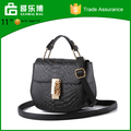 PU shoulder cross bag handle bags for women 2016 best selling round bottom